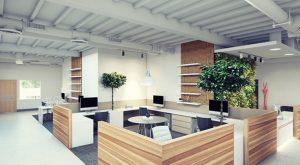 mendesain Ruang Kantor tanpa Plafon